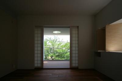 寝室 1 (緑と風と光の家)