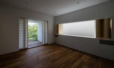 緑と風と光の家 (寝室 4)