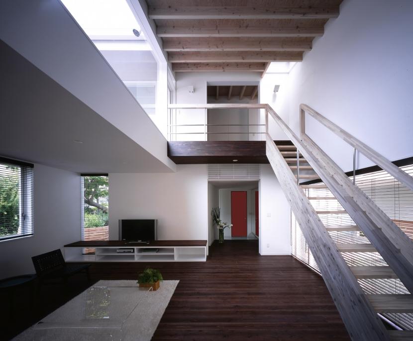 下井草の家 (リビングダイニング B)