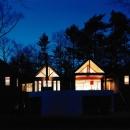 軽井沢の家4の写真 夜景