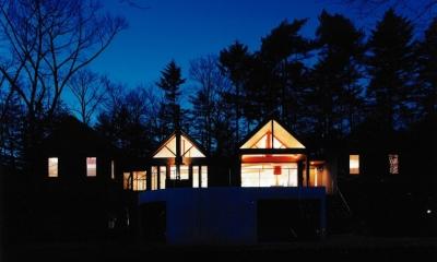 軽井沢の家4 (夜景)