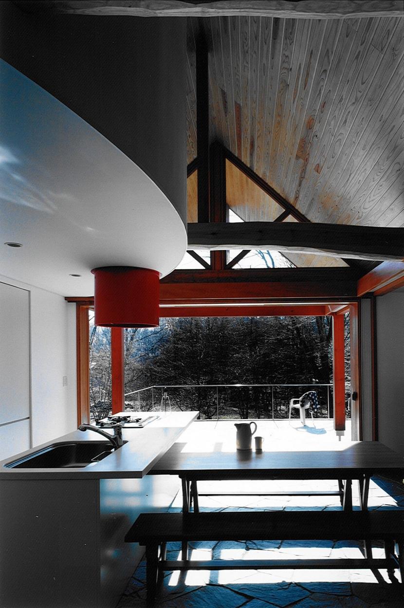 軽井沢の家4 (ダイニング、キッチン)