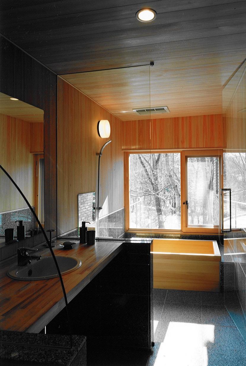 軽井沢の家4の部屋 洗面、浴室
