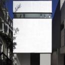 ハコノオウチ01・住宅密集地での箱型住宅