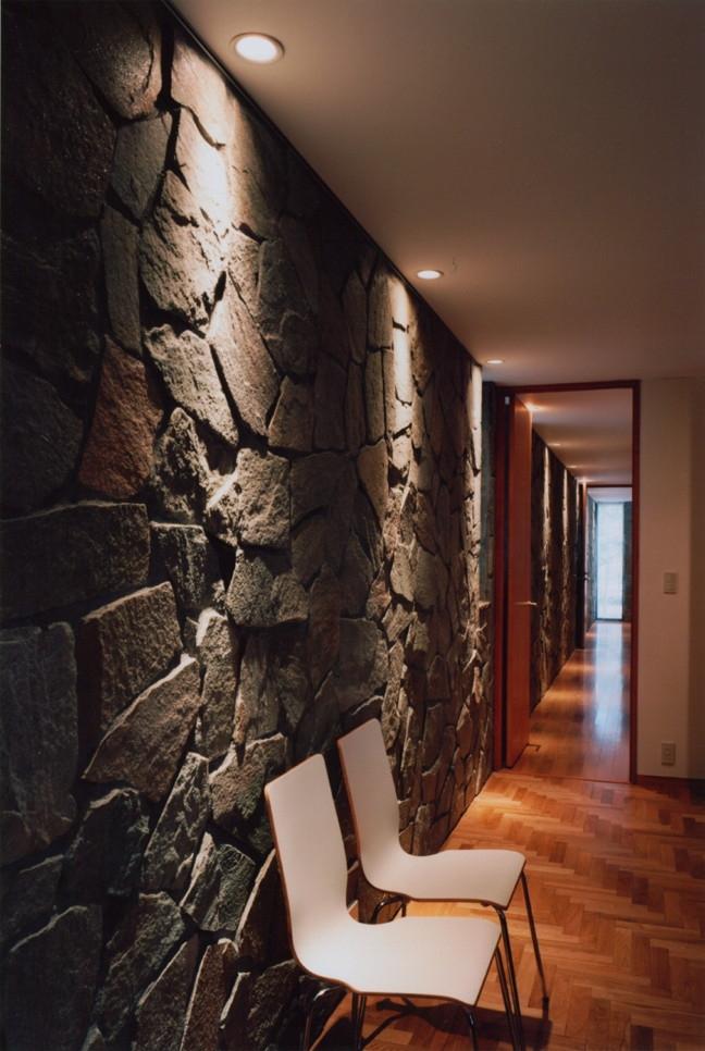軽井沢の家5 (廊下、プールルーム)
