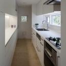 緑と風と光の家の写真 キッチン 2