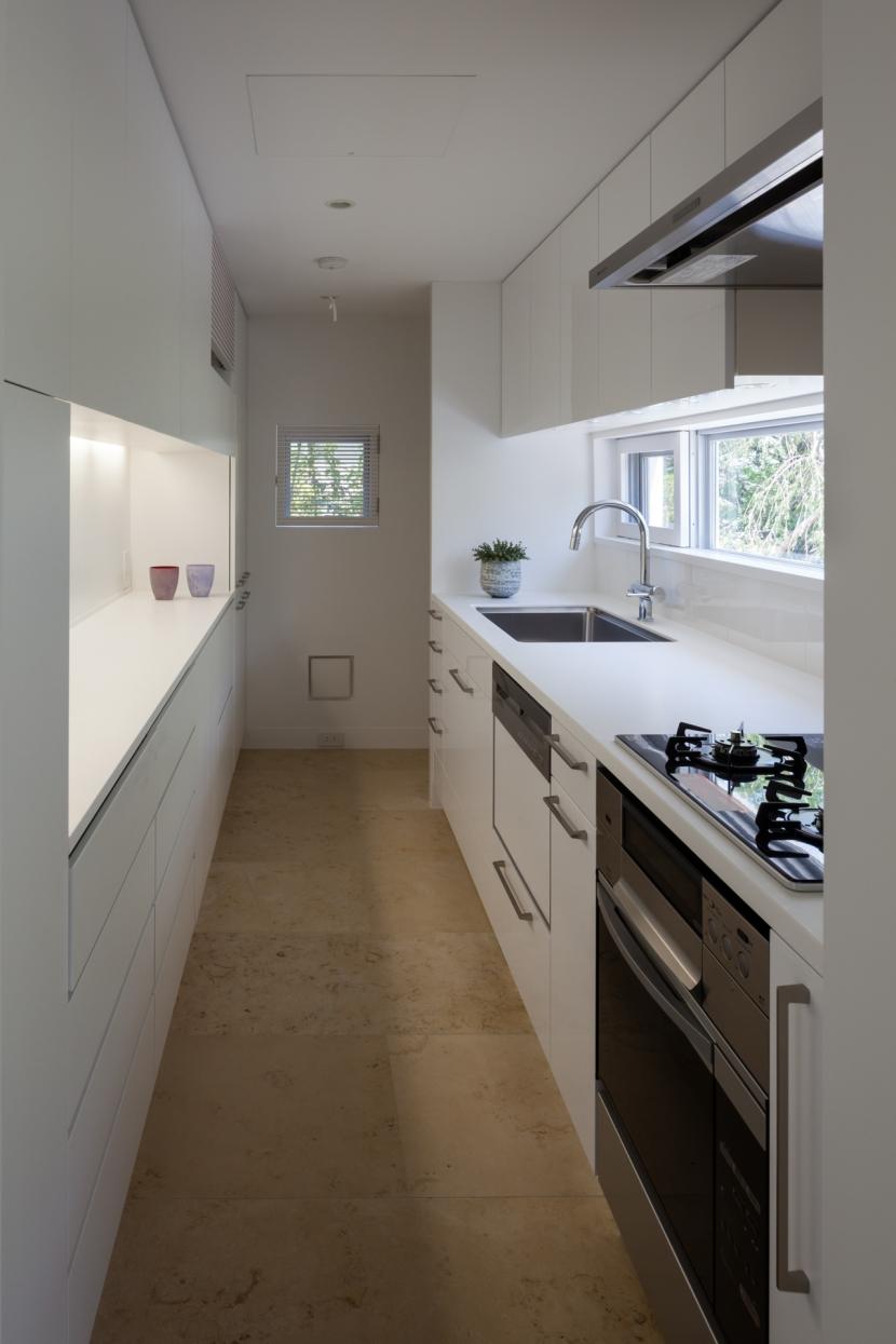 緑と風と光の家の部屋 キッチン 2