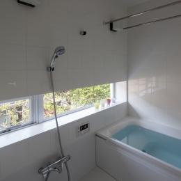 緑と風と光の家 (バスルーム)