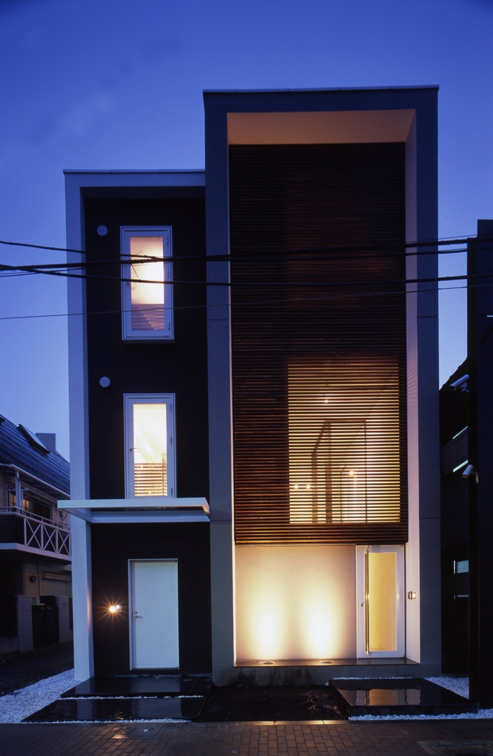 デザイン住宅外観いろいろ (K-Water プールのある家)