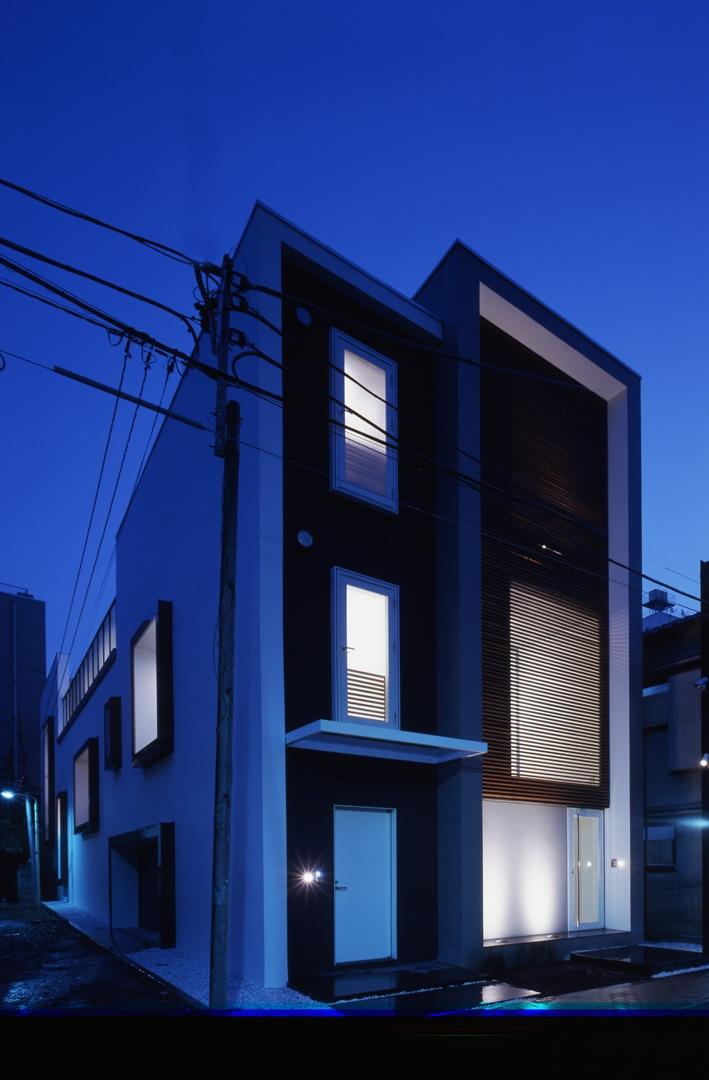 デザイン住宅外観いろいろの部屋 K-Water プールのある家