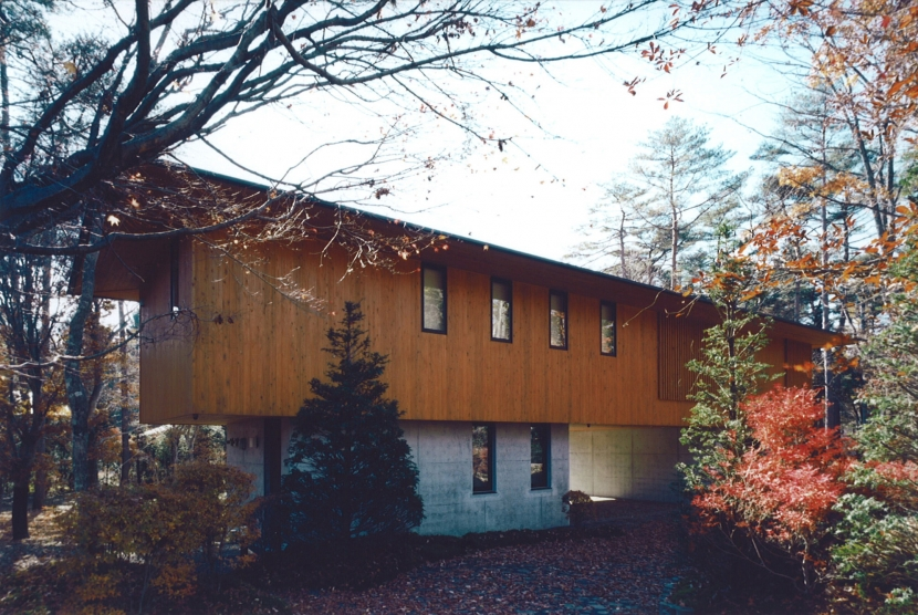 軽井沢の家7 (外観2)