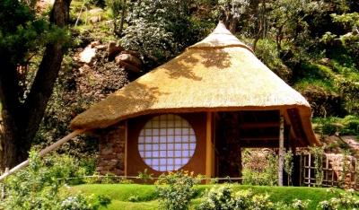 外観 (南アフリカの茶室)