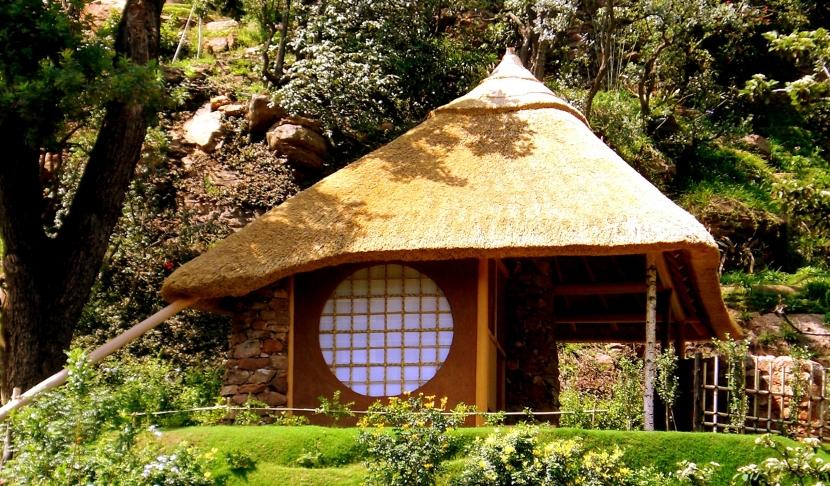建築家:妹尾正治「南アフリカの茶室」