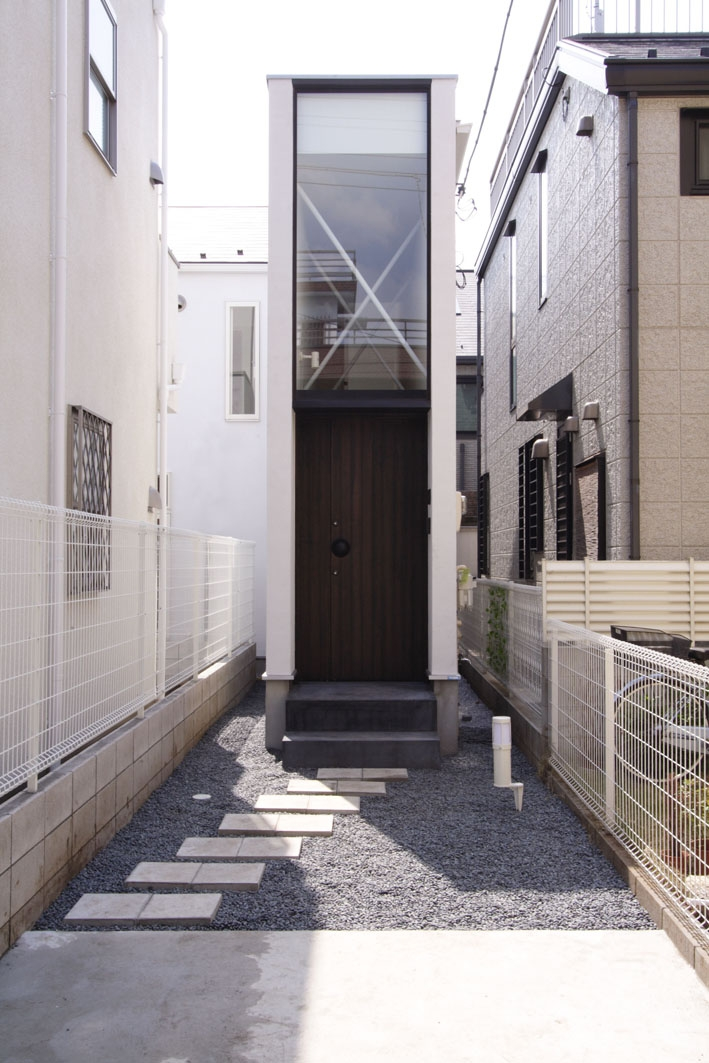デザイン住宅外観いろいろの部屋 H×4 旗竿敷地の家