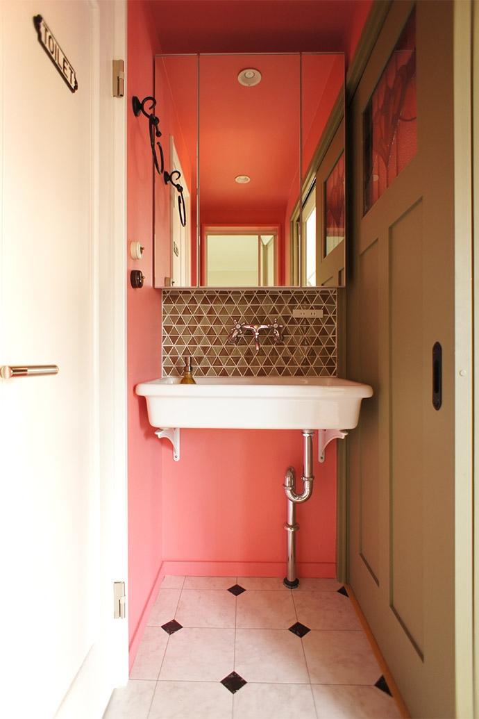 soundnicolaの部屋 洗面室