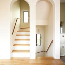 『soundnicola』 ― 音符を空へ-階段
