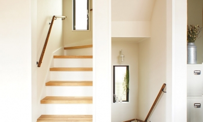 『soundnicola』 ― 音符を空へ (階段)