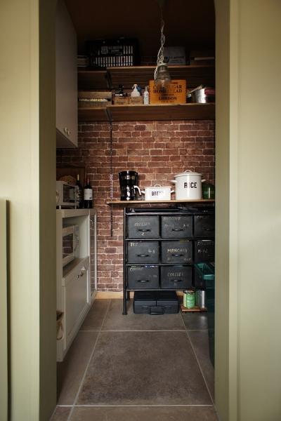 『soundnicola』 ― 音符を空へ (キッチン・パントリー)