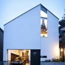 デザイン住宅外観いろいろの写真 オウチ13 インナーガレージある家