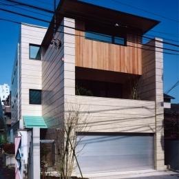 神楽坂の家 (外観)
