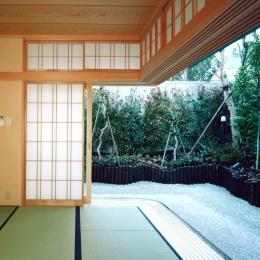 神楽坂の家 (和室)