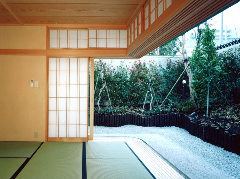 神楽坂の家の部屋 和室