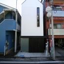 デザイン住宅外観いろいろの写真 T-3G ガレージのある幅3mの家