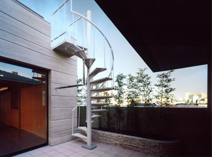 神楽坂の家の部屋 ルーフテラス