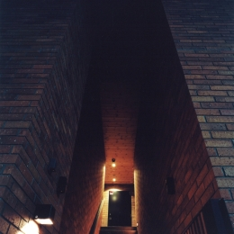 目白の家 (玄関1)