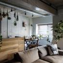 クラフトの住宅事例「ヴィンテージもモダンもなじむ、ニュートラルな空間」
