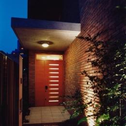 目白の家 (玄関2)