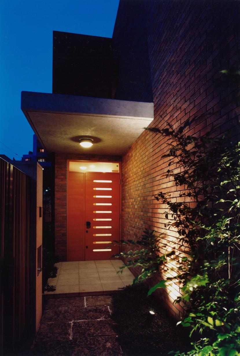 目白の家の部屋 玄関2
