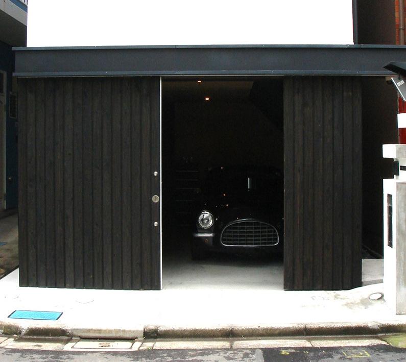 デザイン住宅外観いろいろの部屋 T-3G ガレージのある幅3mの家