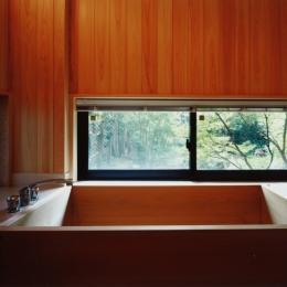 目白の家 (浴室)