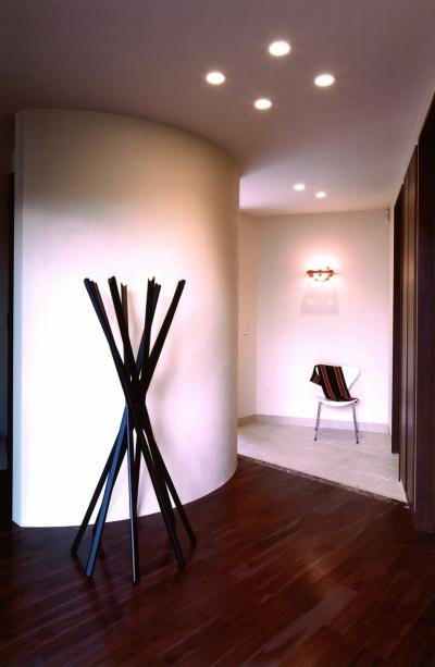 玄関 (軽井沢の家11)