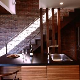 軽井沢の家11 (キッチン)