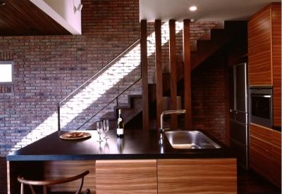 キッチン (軽井沢の家11)
