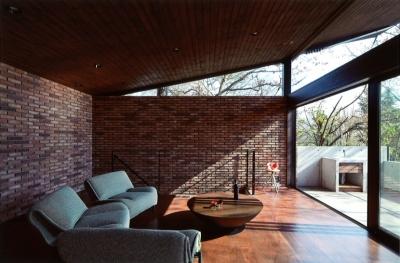 軽井沢の家12 (リビング、ダイニング)