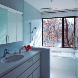 軽井沢の家12 (浴室)
