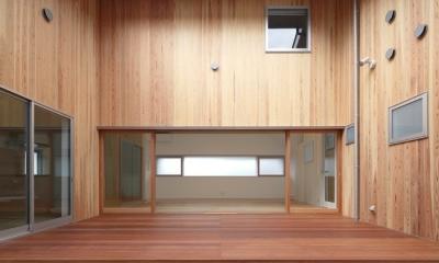 S-HOUSE (中庭)