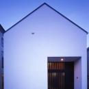 デザイン住宅外観いろいろの写真 G-n1 中庭のある家