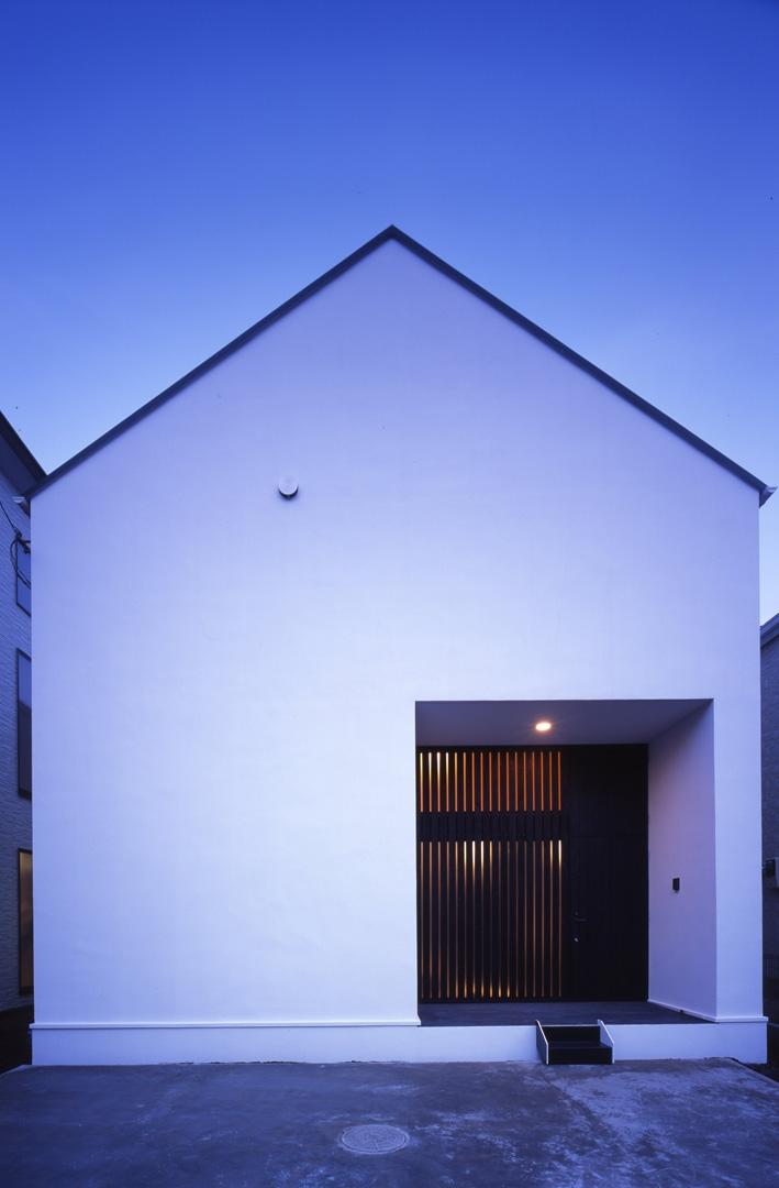 デザイン住宅外観いろいろ (G-n1 中庭のある家)