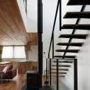027甲府 I さんの家の写真 階段吹抜