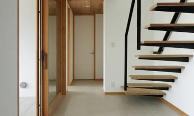 027甲府 I さんの家 (階段)