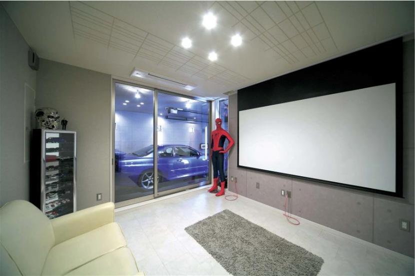 WINDOWの部屋 ビルトインガレージ・ホームシアター