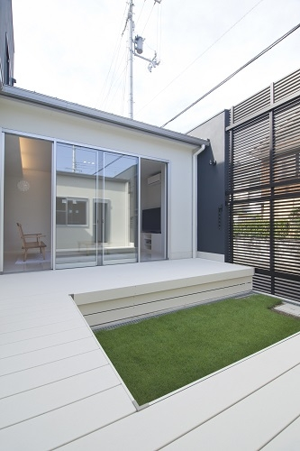 SIMPLEの部屋 中庭
