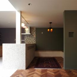 リノベーション・リフォーム会社 空間社の住宅事例「世田谷区F邸~SPRAY~」