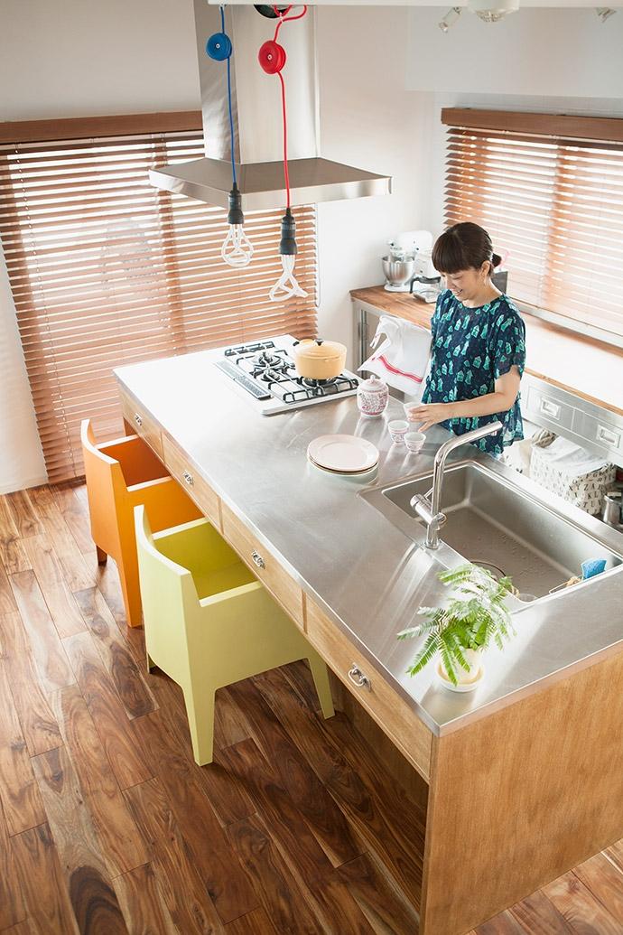 墨田区 Y・O邸~Primary colors~の部屋 キッチン2