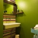 『primary colors』 ― 一番気持ちのいい場所の写真 洗面室