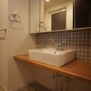 『CACTUS』 ― イメージを合わせるの写真 洗面室